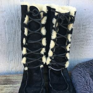 UGG Suede leather boots Size 7
